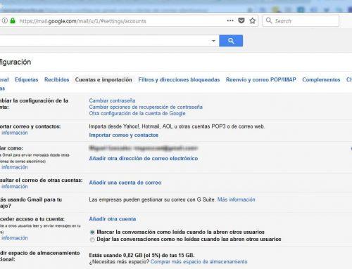 Configurar Gmail para ver tu correo externo